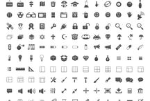 icons / by Jonathan Warrecker
