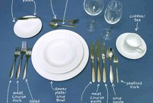 Place setting / by Michelle Warhola