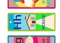 Bookmarks  / Teach alphabet to your kids by using colorful printables such as our set of printable bookmarks. This will surely catch the little ones attention making it easier for them to learn.  / by Free Printable