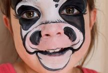Face paint faces / by Cathline Scheel Johnson