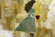 Collage/Art - Handwritten Notes, Letters, etc. / by Liz Zimbelman