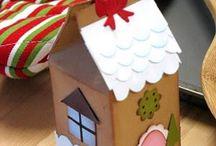 Milk Carton Crafts / by Stephanie Desrosiers