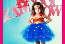 costumes and tutus / by Amanda Burke
