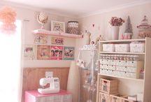 Craft Room / by {Un dulce hogar}