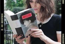 Celebrities reading / by Kieran Kramer