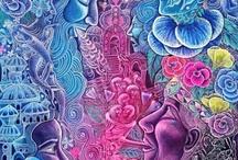 Arte Pintas ayahuasca / by Luis Rodrigo M