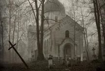 Abandoned, Haunted and just plain creepy... / by Amy Cole-Iorio