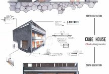 architectural drawings / by Melissa Tsai