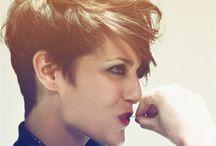Hair - short w volume / by Cheryl Stearley