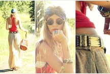 Hippie Fashion / by Tracy Moore