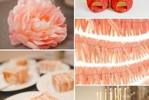 Wedding ~ Orange Inspiration / by Aphrodite's World / Weddings