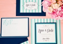 Aqua, Navy and Peach / by Melissa Page