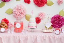 Girly Parties / by Haley Elizabeth
