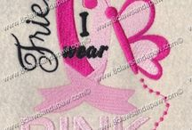 Breast Cancer Embroidery Designs / Breast Cancer Awareness Embroidery Designs and Appliques / by 8 Claws and a Paw Embroidery