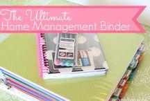 Home Management Binder / by Darcy Pratt