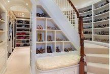 Wonderful Walk-In Closets / so many clothes... / by Melanie Blasel