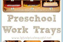 Preschool at Home / by {1plus1plus1} Carisa
