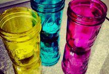 mason jars / by Danelle Green