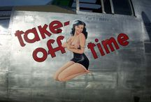 WW2 Airplane & Nose Art / by Paul Mansfield
