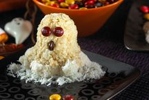 "Halloween Recipes / From ghosts to green monsters, we have all kinds of kooky, spooky recipe ideas you and your kids can ""dress up"" for Halloween. / by Rice Krispies®"