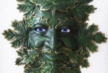 Green Man / by Lasgalen Arts