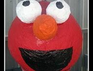 Elmo birthday / by Stephanie Brown