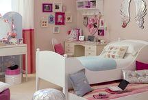 girls room ideas / by Sarah Budd