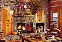 Rustic Cozy Cowboy Cabin / by Misty Daniel