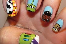 Disney make up and nails / Disney Nails  / by Tiffany Lane
