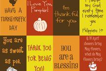 Be Thankful / by Bloomies Handmade