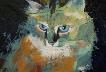 Cat Art / by Heidi Nolette