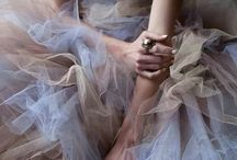 Lace, tulle, sheer & shine / by Natalie Dennison