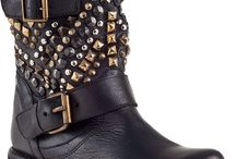 Leather and studs / by Jordan Roach