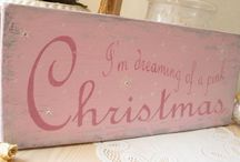 """~""""Christmas In Pink""""~ / by ~Cindy H. Stewart~"""