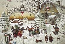 A Country Christmas / by Carolyn Hutson