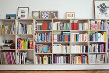 book shelves / by Kari Anne Marstein