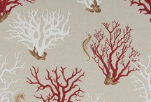 Prints: II / Beach Inspired Fabric / by Cottage Home