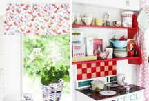 Interior // A Happy Home / Beautiful Home inspiration, bright, cheerful, vintage and vibrant / by Sweet painted lady