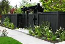 Front fence / by Courtney Bennett