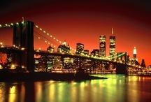 New York City... / by Natasha Pantelides