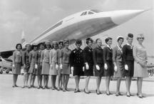 Flight Attendant ,   Comissárias de bordo. / Staff , air, Flight Attendant / by André Silva