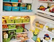 Fridge organization / by Susan T