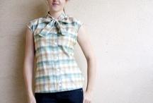 Sewing shirts / by Tina McNally