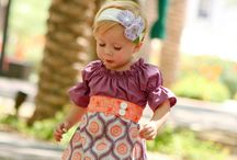 Girls dresses / by Anastasia Usoltseff