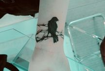 Raven tattoos  / by Holly Honey