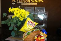 Meetings & Reunions in St. George Utah / We offer a wonderful space for your next get together. Catering Available.  Classroom seating up to 50 guests and theater to 70 guests. / by Clarion Suites St. George, Utah  Choice Hotels