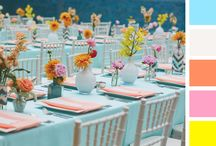 Colour My Wedding Pretty! / The more colour for the big day, the better... it seems! / by Zulu Nyala
