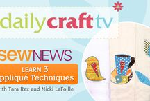 Daily Craft TV! / by Sew News
