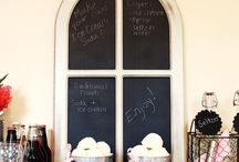Creative Chalkboard Sweeps / by Craftbaby