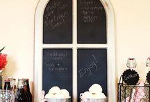 Creative Chalkboard Sweeps / by Craftbaby